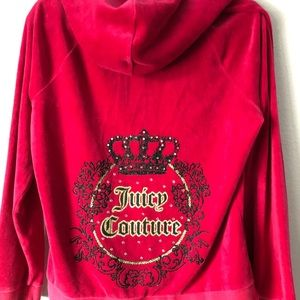 Juicy Couture Hot Pink magenta jacket
